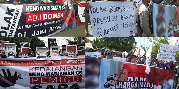 teman jokowi bengkulu tolak deklarasi 2019 ganti presiden kabar rafflesia teman jokowi bengkulu tolak deklarasi